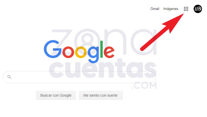 Abrir Gmail desde inicio