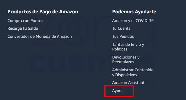 Borrar cuenta de Amazon Prime