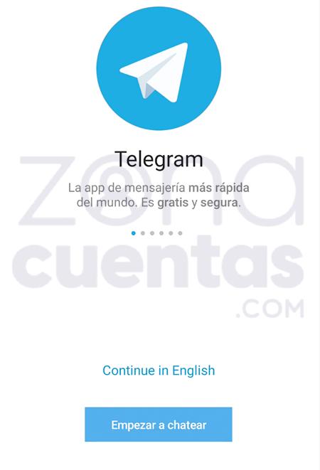 Cómo registrarse en Telegram