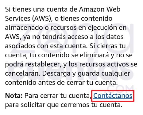 Contactar con soporte al cliente de Amazon Prime