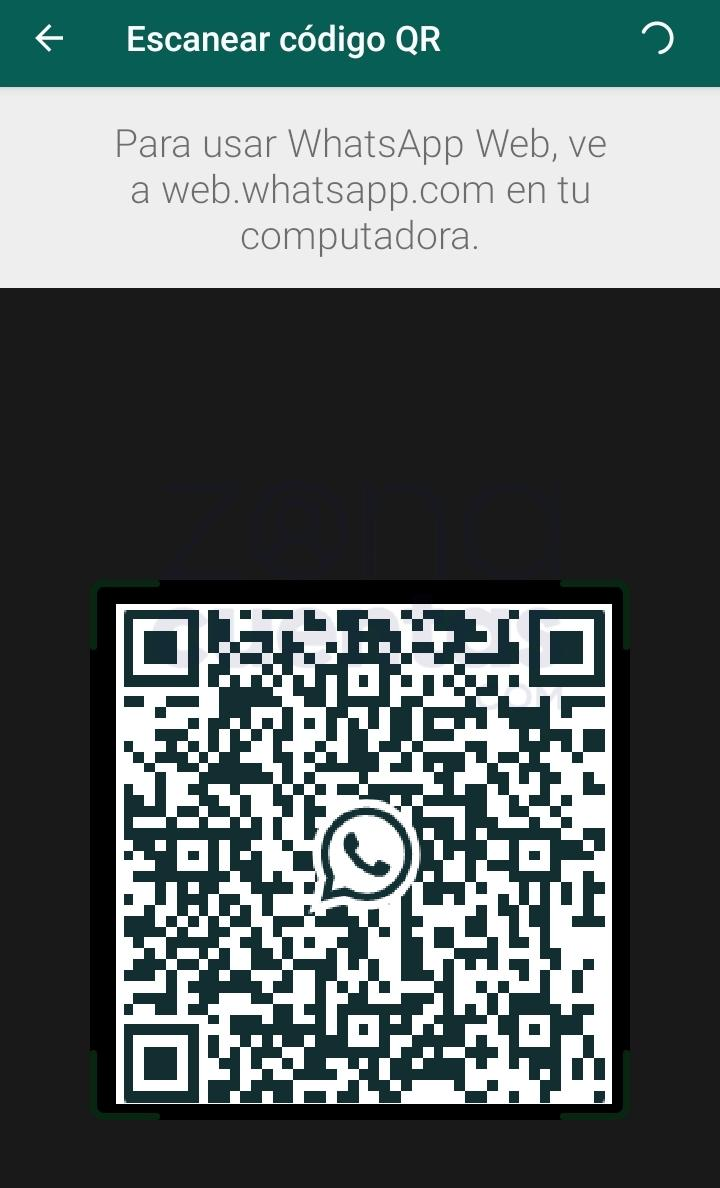 Escanear código QR en WhatsApp
