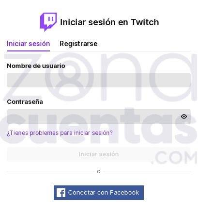 Iniciar sesión en tu cuenta de Twitch