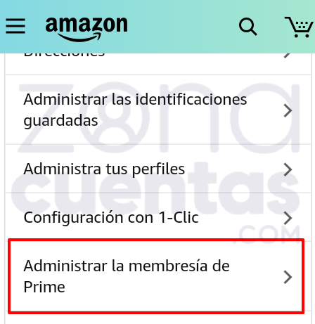 Membresía Prime