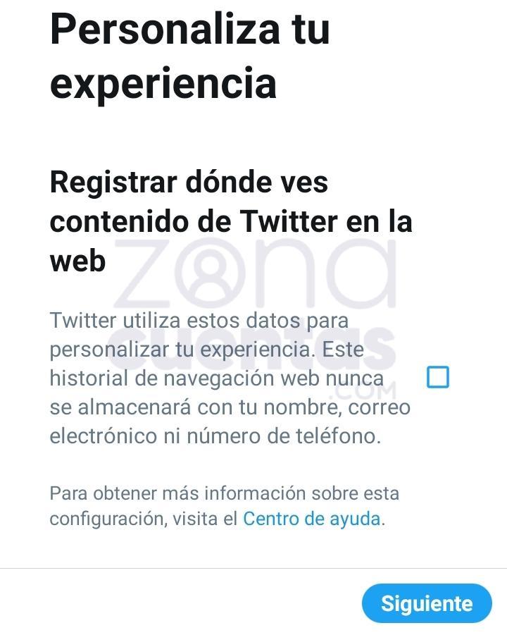 Personaliza tu experiencia en Twitter