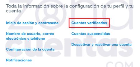 Centro de ayuda de Twitter