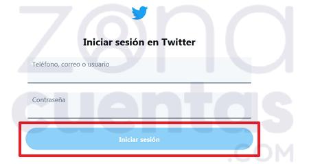 Crear segunda cuenta en Twitter