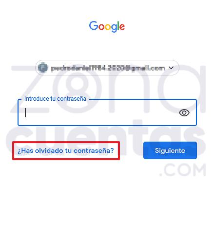 Ingresar a tu cuenta de Gmail