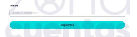 Introducir nombre en registro POF