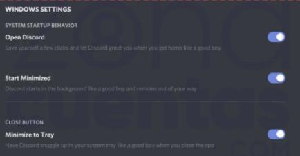 Deshabilitar desde Discord