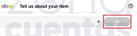 Especificación de artículos en eBay