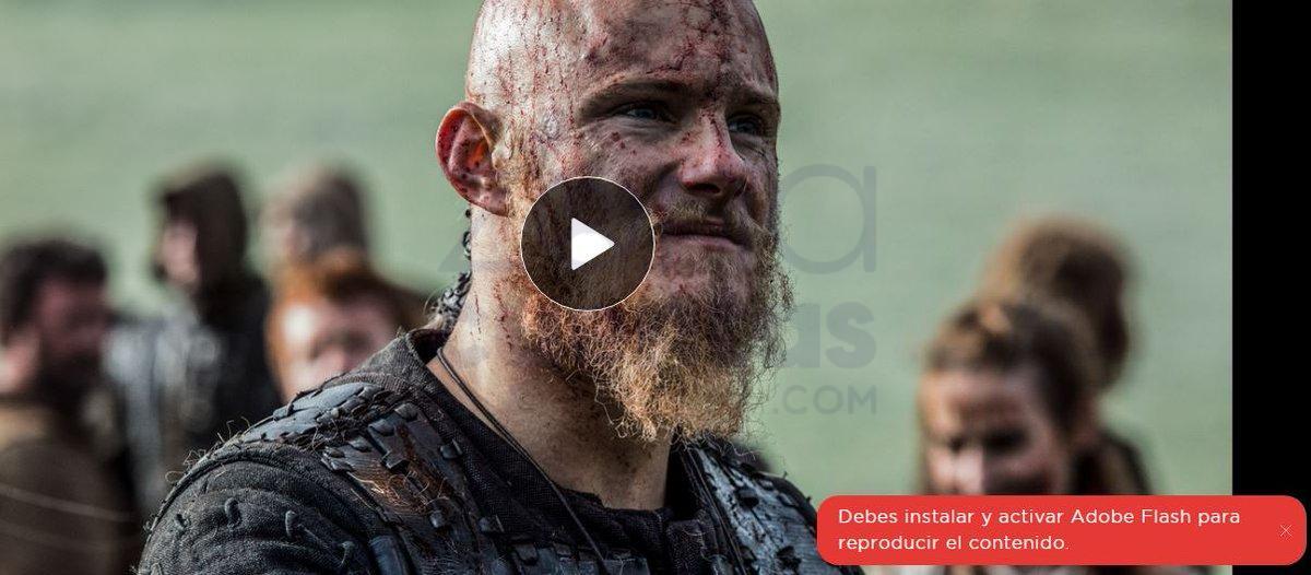 Activar Adobe Flash Player en HBO