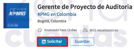 Subir CV a LinkedIN