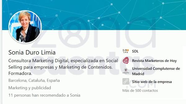 Optimizar contacto de linkedin